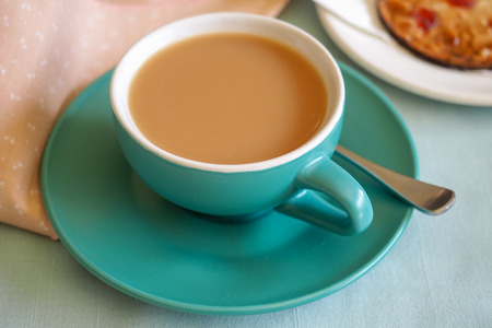 biscuit: Cup of Tea with Biscuit