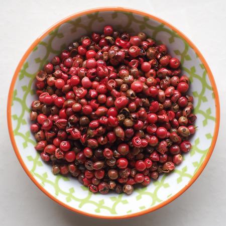 peppercorns: Red Peppercorns