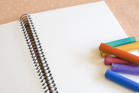 spiral binding: Sketch Pad with Soft Pastels