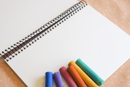 spiral binding: Sketch Pad and Soft Pastels