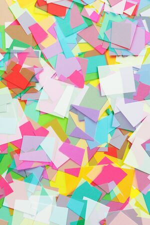 cut paper: Cut Colored Paper Squares