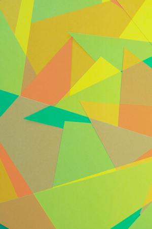 colored paper: Cut Colored Paper 1 Stock Photo