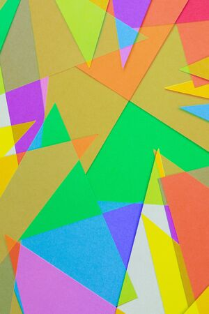 colored paper: Cut Colored Paper 4