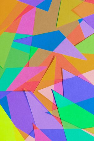 colored paper: Cut Colored Paper 8