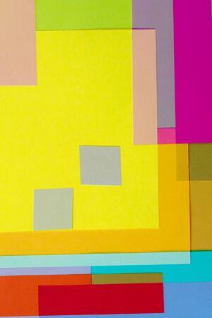 color photographs: Cut Colored Paper 12