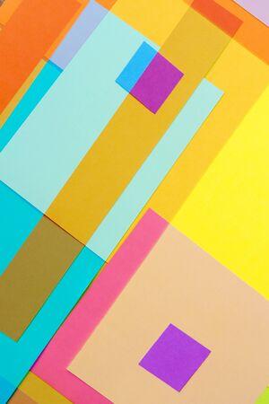 colored paper: Cut Colored Paper 18