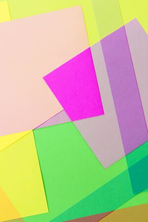 colored paper: Cut Colored Paper 20 Stock Photo