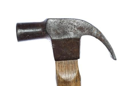 Hammer head rusty isolated