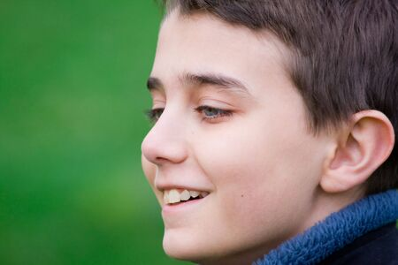 Portrait of a happy teenager Stock Photo - 3898940