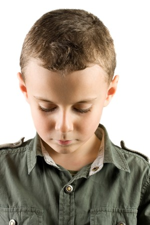 retrospective: Portrait of a sad child