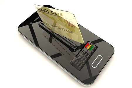 e systems: Credit Card and mobile phone