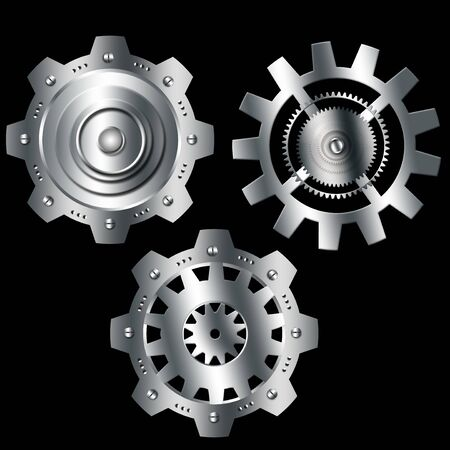 rackwheel: Abstract background  with gears