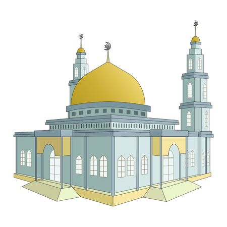 Mosque building is the home of Muslims. Day celebrations, discussions, religious studies, lectures and learning of the Holy Qur'an are often performed at mosques.