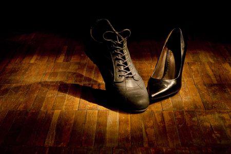 Footwear dance: love photo