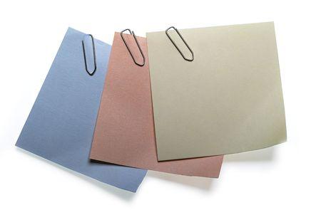 Three colour stickers