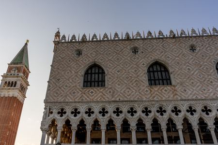 Europe, Italy, Venice, Piazza San Marco, LOW ANGLE VIEW OF TEMPLE BUILDING AGAINST SKY