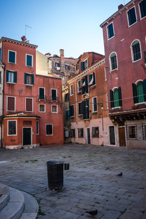Venice, Italy - 30 June 2018: the cityscape and townscape of Venice in Italy 写真素材 - 119239878