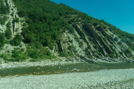 Europe, Italy, La Spezia to Kasltelruth train, a body of water