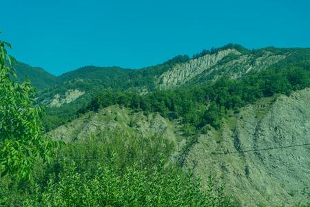 Europe, Italy, La Spezia to Kasltelruth train, a close up of a lush green hillside