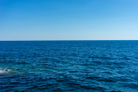Europa, Włochy, Cinque Terre, Vernazza, zbiornik wodny nad oceanem