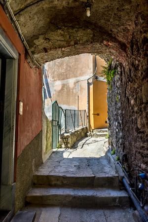 A narrow street Reklamní fotografie