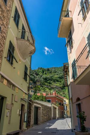 A narrow street Stockfoto