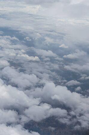 Bangalore à Pune,, un groupe de nuages dans le ciel