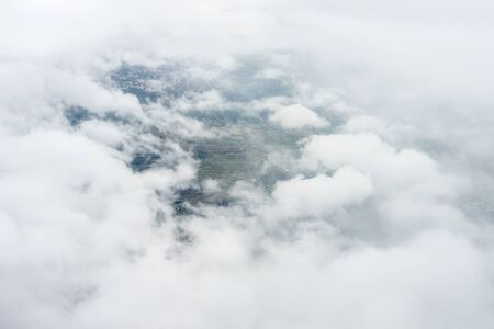 Bangalore to Pune,, a group of clouds in the sky