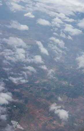 Bangalore to Pune,, clouds in the sky