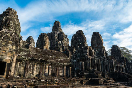 place of worship: Angkor Wat temple. Ancient place of worship in Cambodia Stock Photo