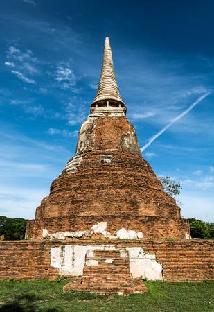 phra nakhon si ayutthaya: Buddhist Pagoda in Thailand. Phra Nakhon Si Ayutthaya