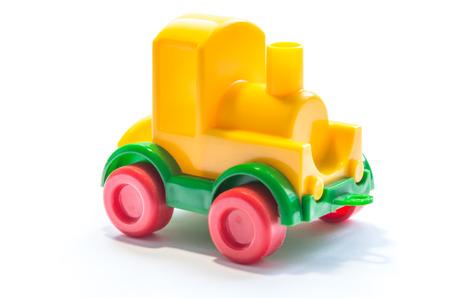 toy train: Yellow toy train