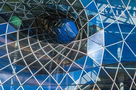 L'architecture moderne à Francfort, en Allemagne