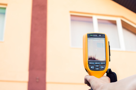 heat loss: Heat Loss Detection of the House With Infrared Thermal Camera