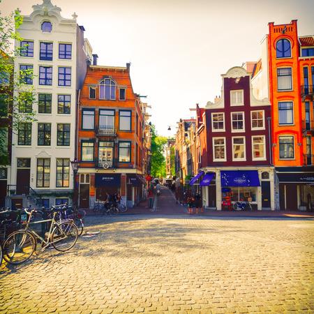 the netherlands: City centre, Amsterdam, Netherlands Stock Photo