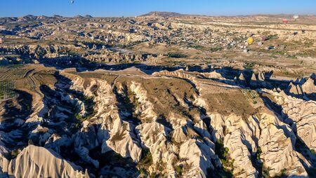 Hot Air Ballooning in the Canyons of Cappadocia