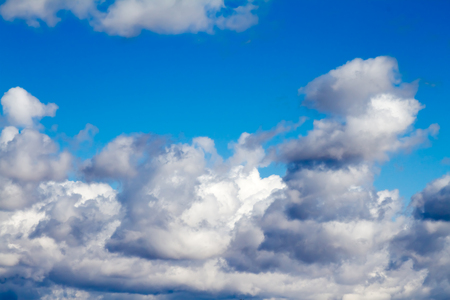 cloudscapes: Thunderclouds in the sky.
