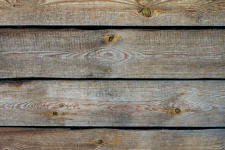Brown wood texture. Old wood background. Empty template. Copyspace. Archivio Fotografico