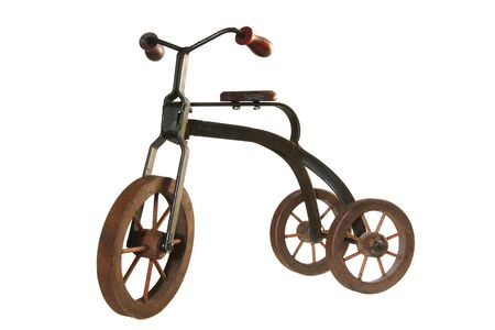 antique tricycle: Antique tricycle  Stock Photo