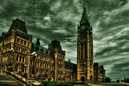 Ottawa Canada parlement gebouwen Stockfoto