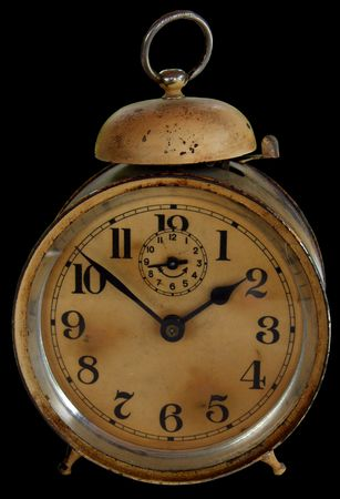 Antique alarm clock Stock Photo