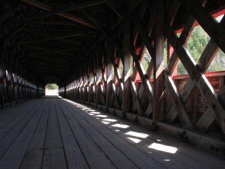 Covered Bridge Stock Photo - 3819272