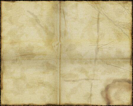 Worn parchment