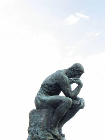 denker: Standbeeld van de denker