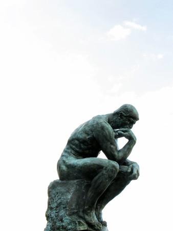 Statue du penseur