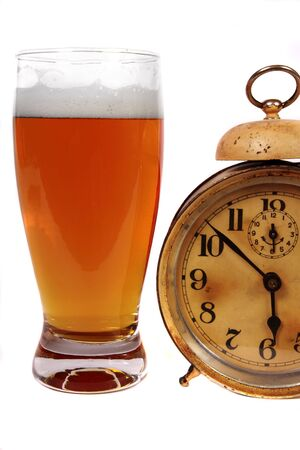 Beer and alarm clock, time to take a break