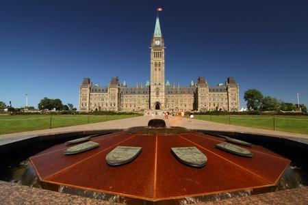 Parliament Hill Stock Photo