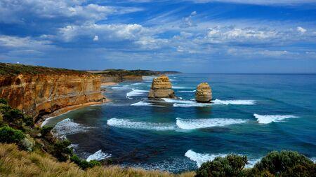 Gorgeous day at The Twelve Apostles, Great Ocean Road, Australia photo