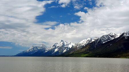The Grand Tetons. Grand Teton National Park, Wyoming photo