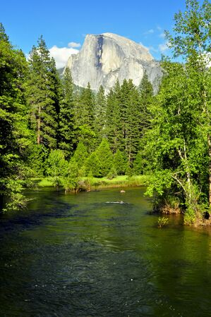 Half Dome. Yosemite National Park photo
